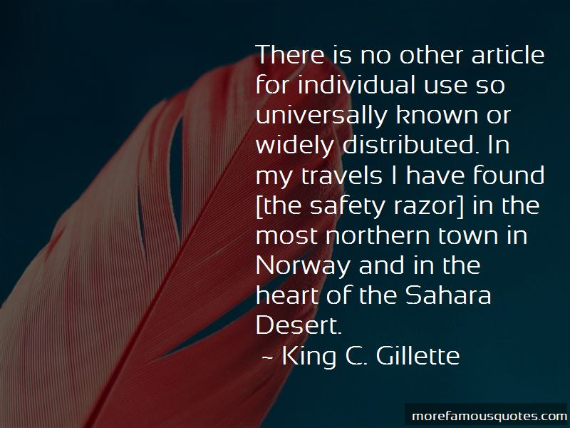 King C. Gillette Quotes Pictures 3