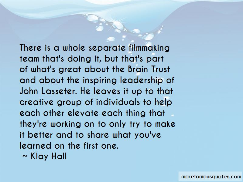 Klay Hall Quotes Pictures 2