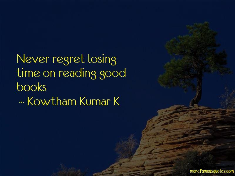 Kowtham Kumar K Quotes Pictures 2