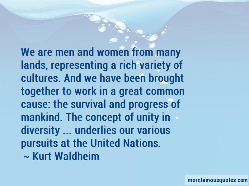 Kurt Waldheim Quotes