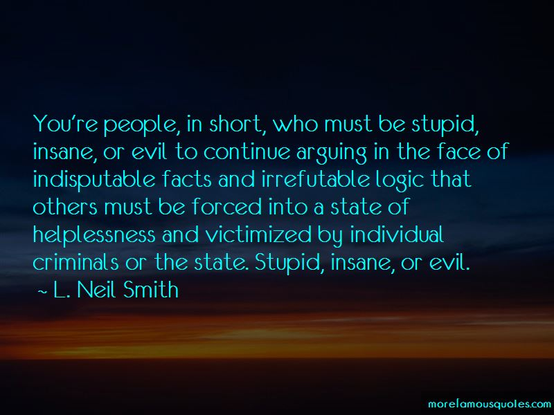L. Neil Smith Quotes