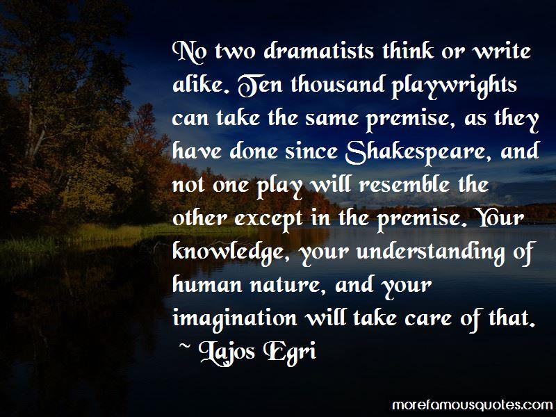 Lajos Egri Quotes Pictures 2