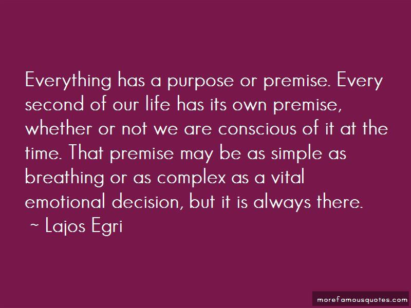 Lajos Egri Quotes
