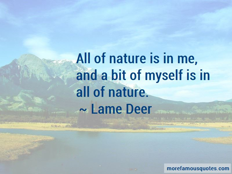 Lame Deer Quotes