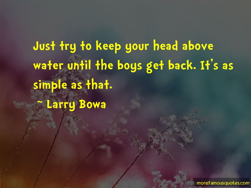 Larry Bowa Quotes
