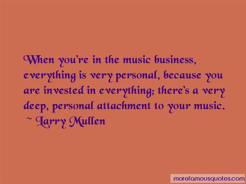 Larry Mullen Quotes