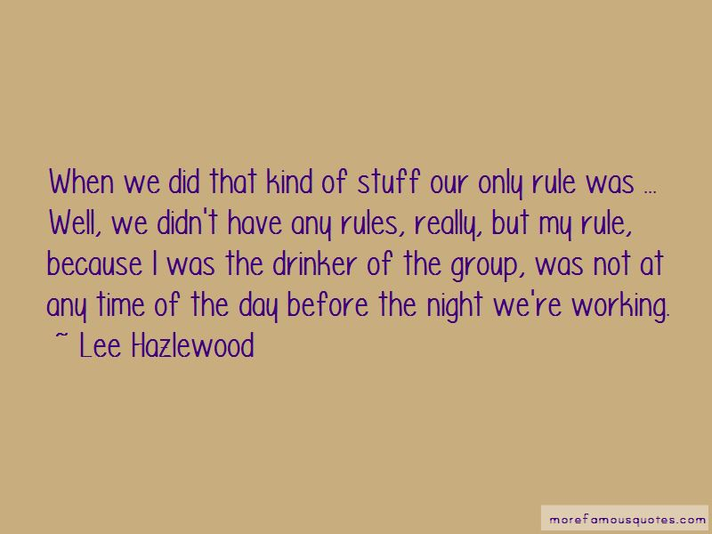 Lee Hazlewood Quotes Pictures 4