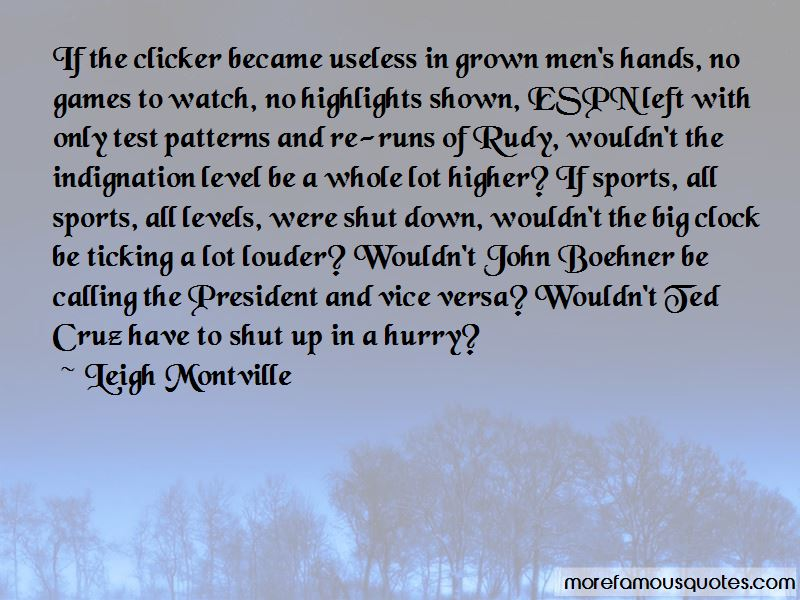 Leigh Montville Quotes