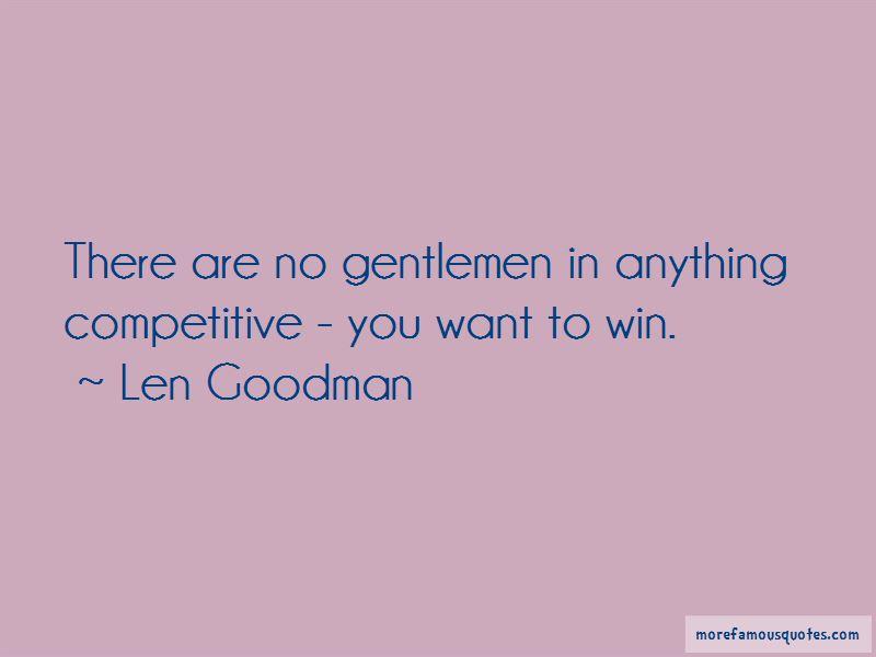 Len Goodman Quotes Pictures 3