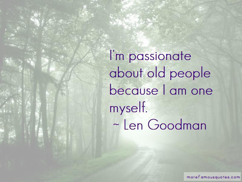 Len Goodman Quotes Pictures 4