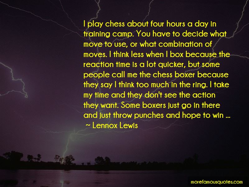 Lennox Lewis Quotes Pictures 3