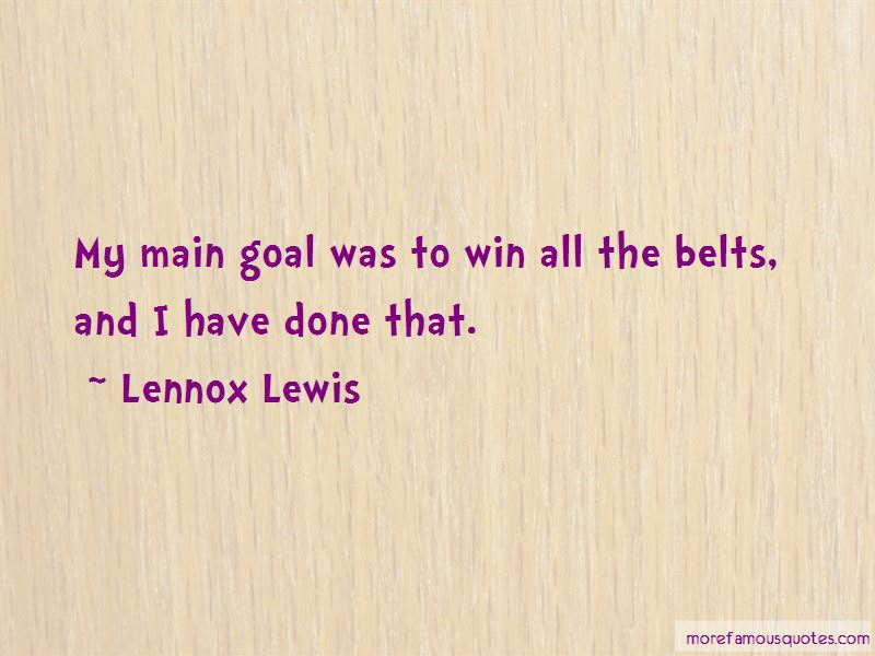 Lennox Lewis Quotes Pictures 4