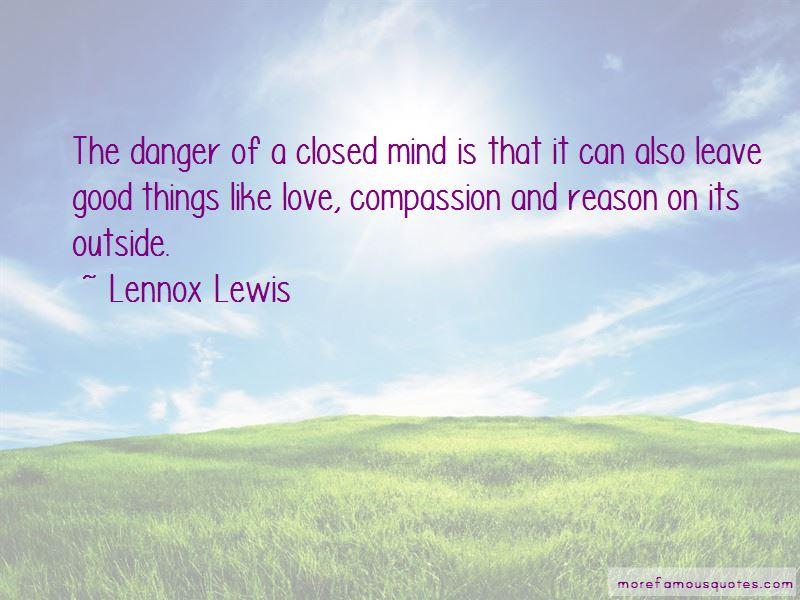 Lennox Lewis Quotes