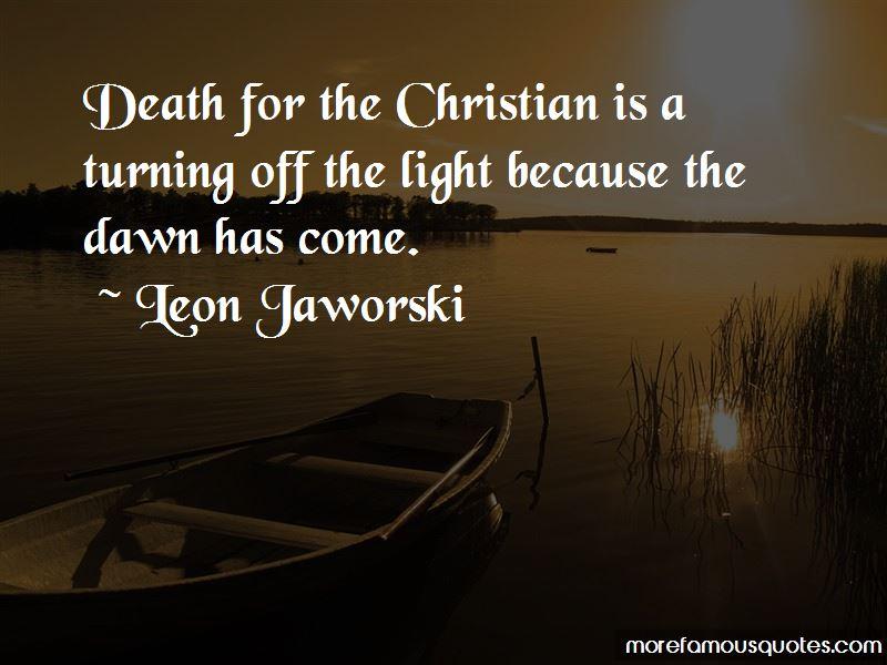 Leon Jaworski Quotes Pictures 3