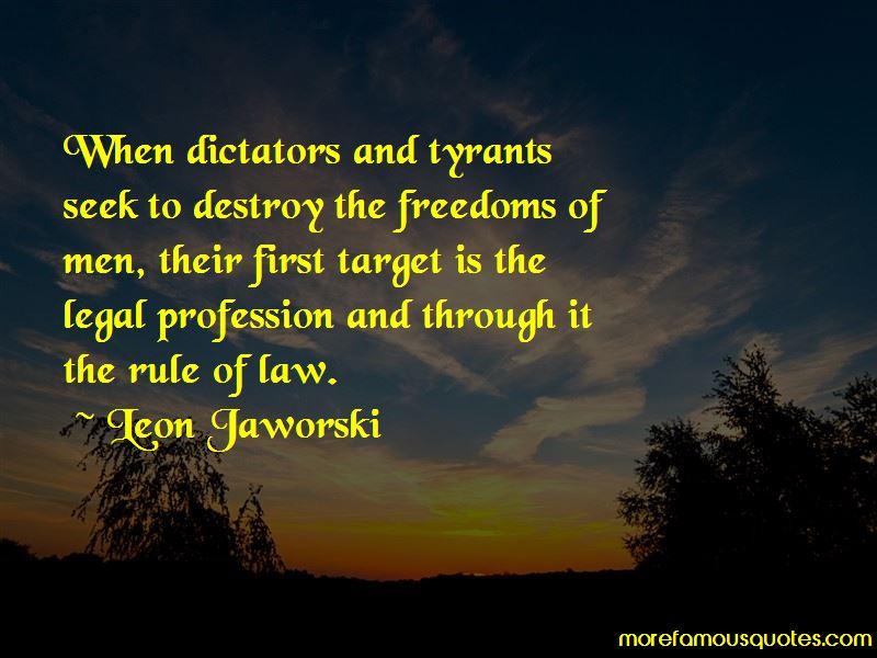 Leon Jaworski Quotes
