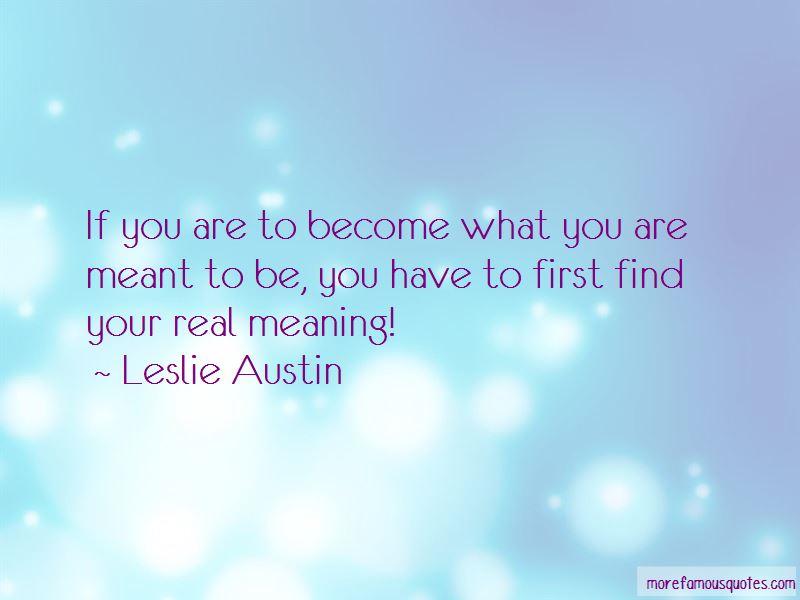 Leslie Austin Quotes Pictures 2