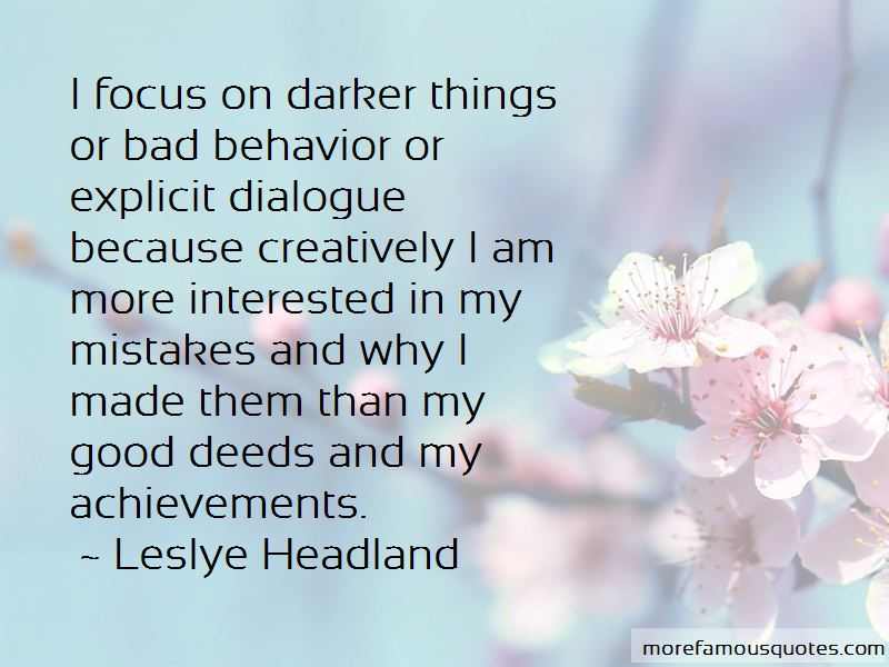 Leslye Headland Quotes Pictures 3