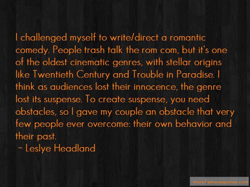 Leslye Headland Quotes Pictures 4