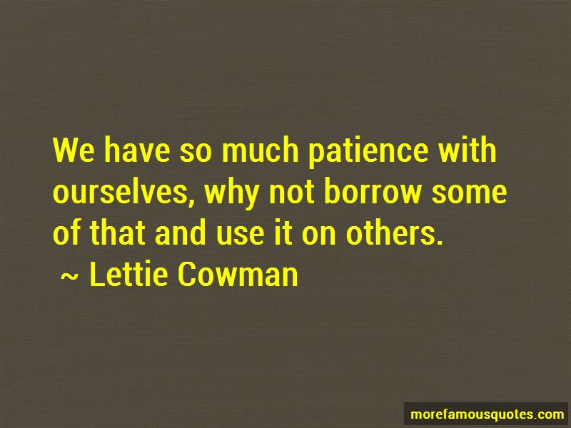 Lettie Cowman Quotes Pictures 3