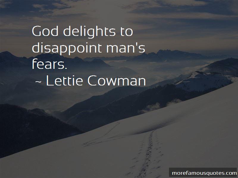 Lettie Cowman Quotes