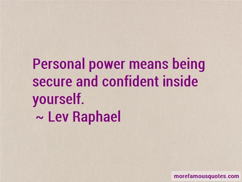 Lev Raphael Quotes