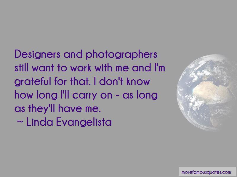 Linda Evangelista Quotes Pictures 3
