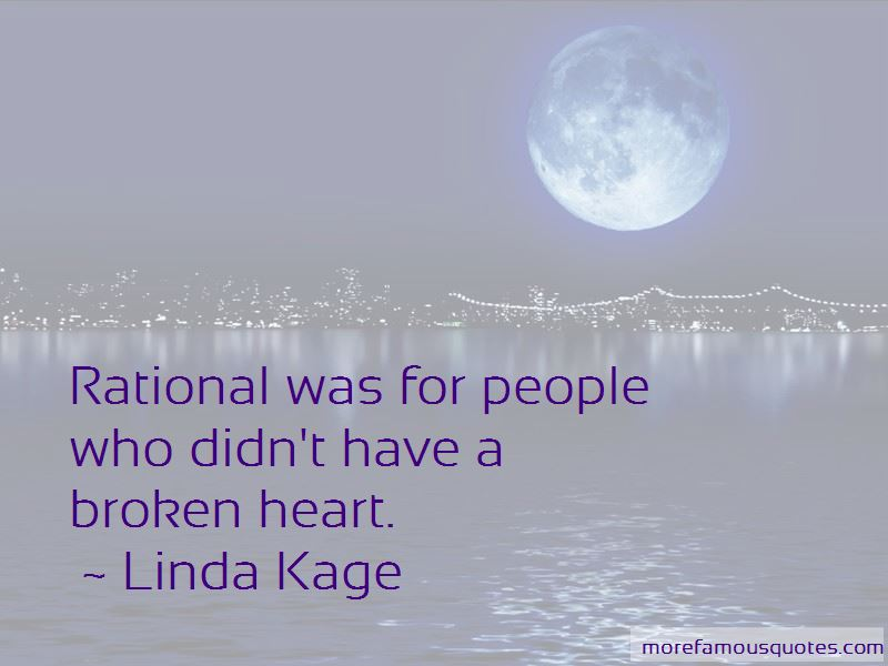 Linda Kage Quotes Pictures 3