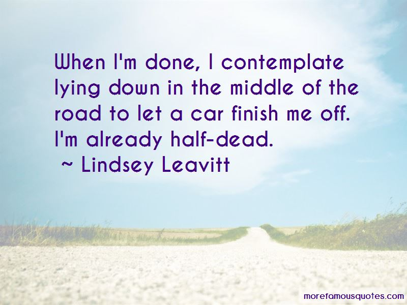 Lindsey Leavitt Quotes Pictures 2