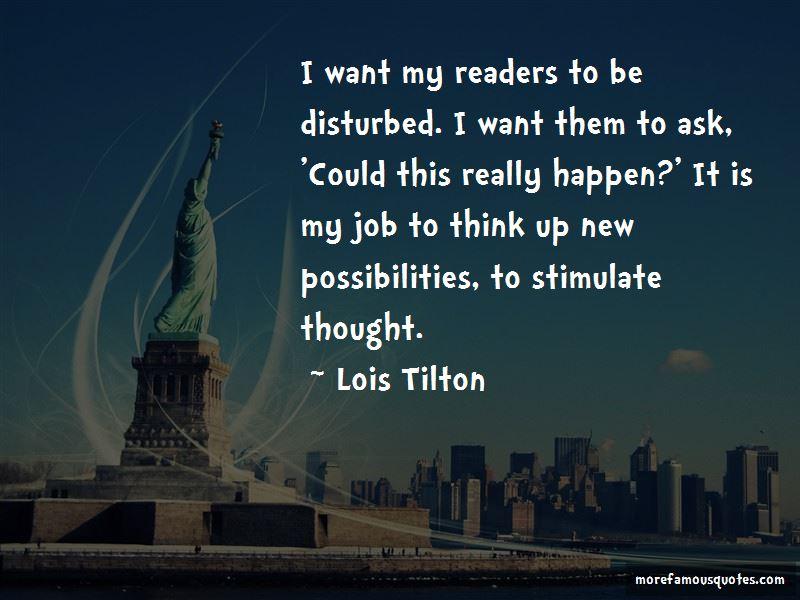 Lois Tilton Quotes Pictures 4