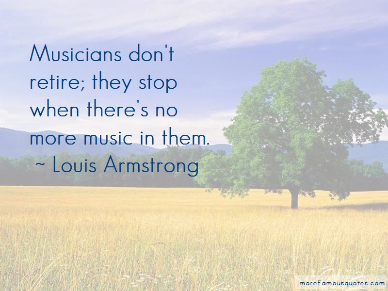 Louis Armstrong Quotes