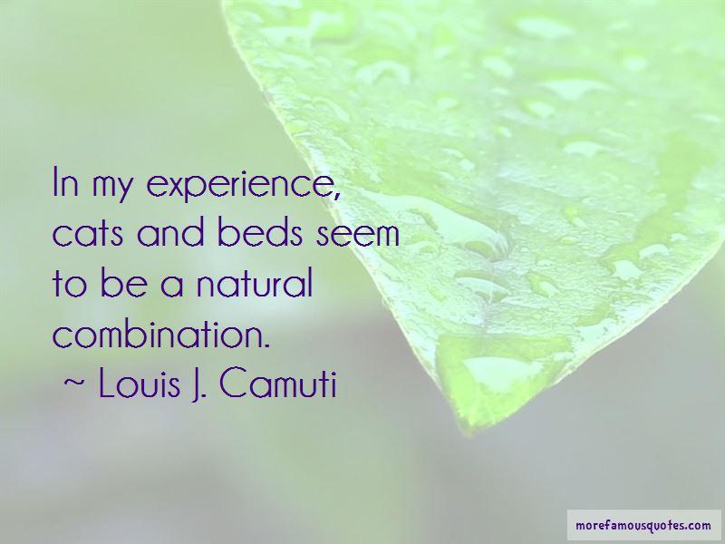 Louis J. Camuti Quotes Pictures 2
