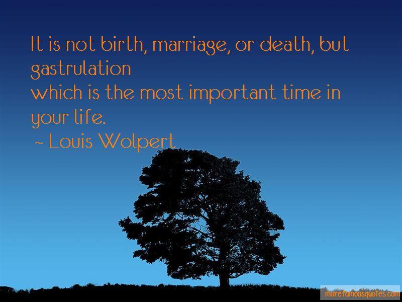 Louis Wolpert Quotes