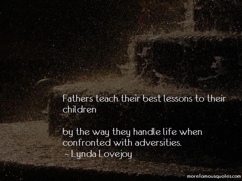 Lynda Lovejoy Quotes