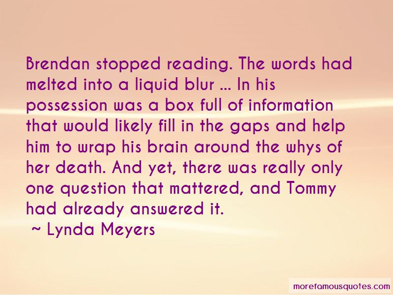 Lynda Meyers Quotes Pictures 4