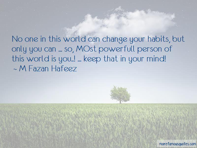 M Fazan Hafeez Quotes
