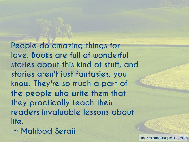 Mahbod Seraji Quotes
