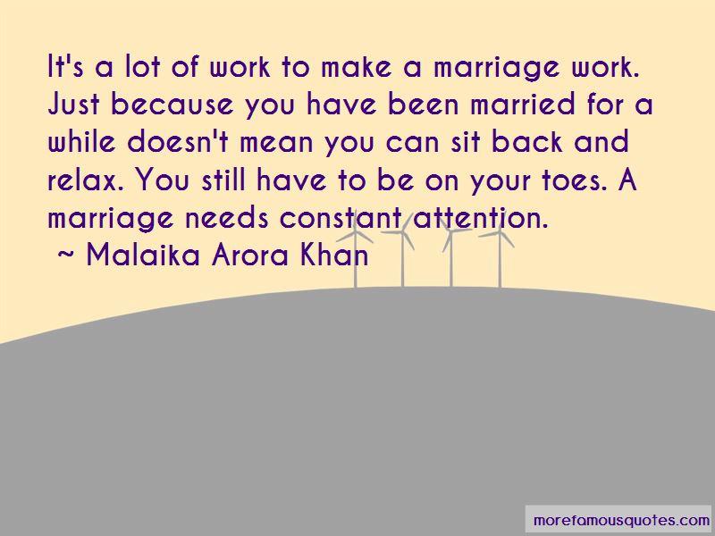 Malaika Arora Khan Quotes