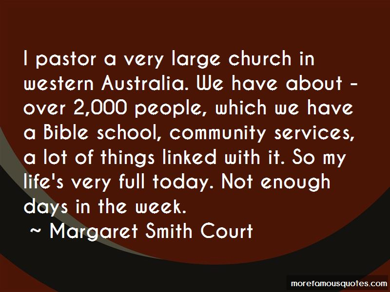 Margaret Smith Court Quotes