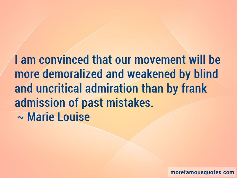Marie Louise Quotes