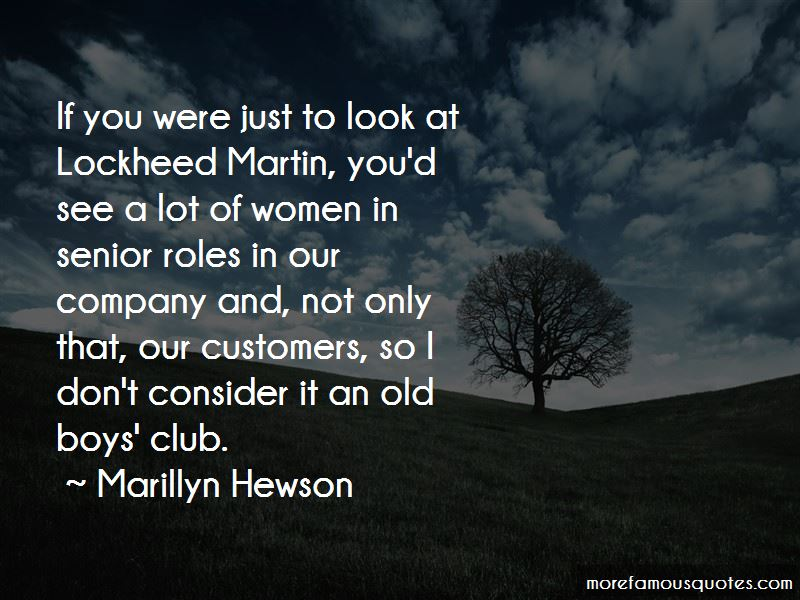 Marillyn Hewson Quotes Pictures 2