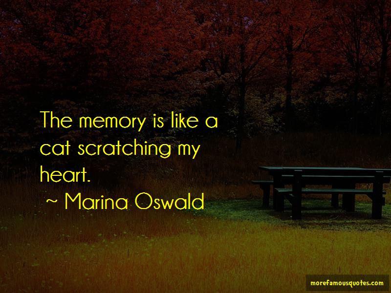 Marina Oswald Quotes