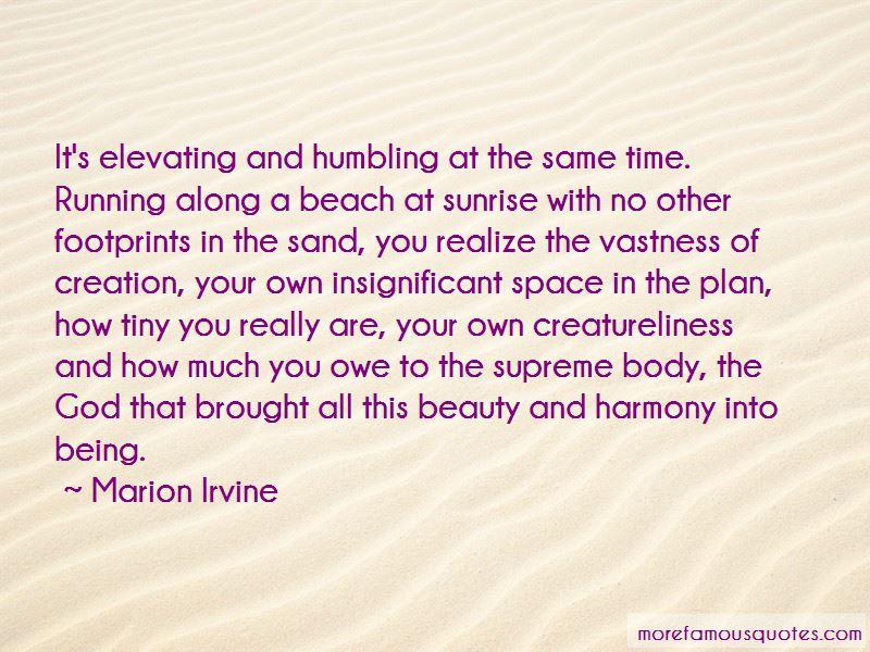 Marion Irvine Quotes