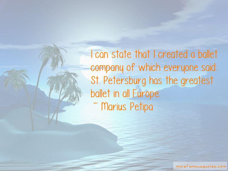Marius Petipa Quotes