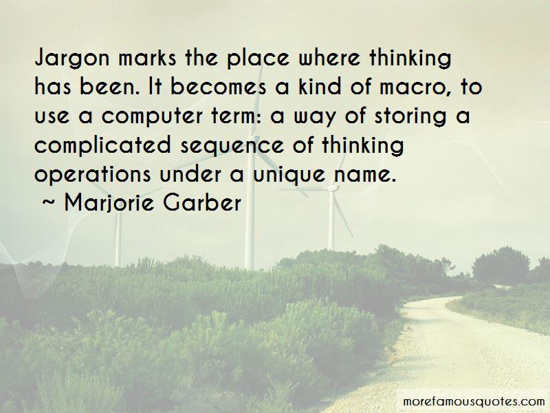 Marjorie Garber Quotes Pictures 2