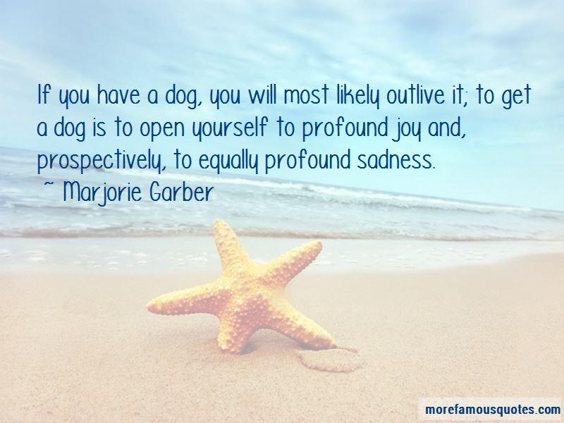 Marjorie Garber Quotes Pictures 4