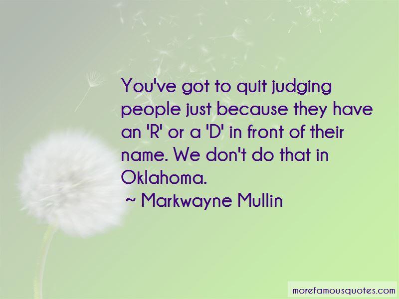 Markwayne Mullin Quotes