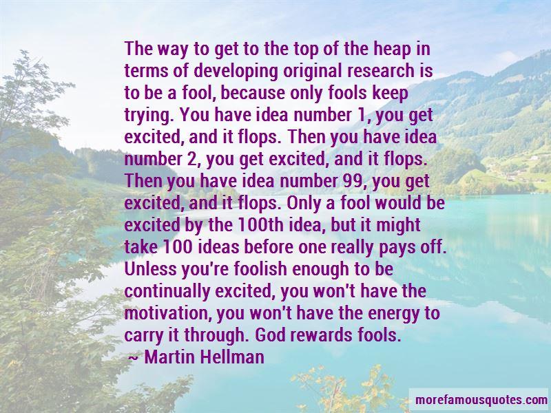 Martin Hellman Quotes