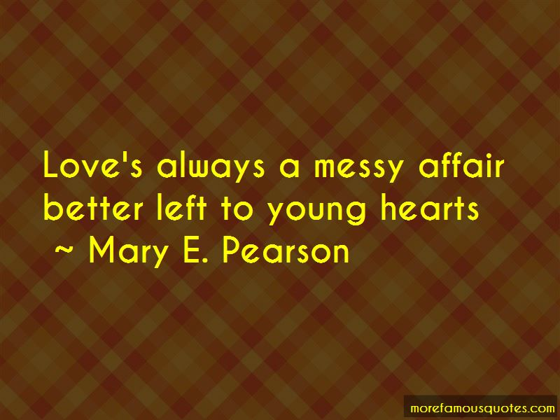 Mary E. Pearson Quotes Pictures 2