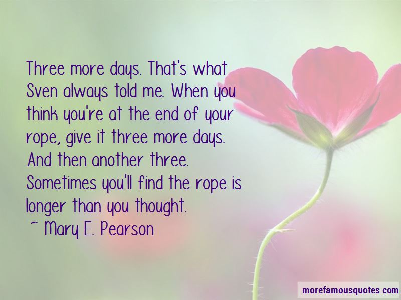Mary E. Pearson Quotes Pictures 4