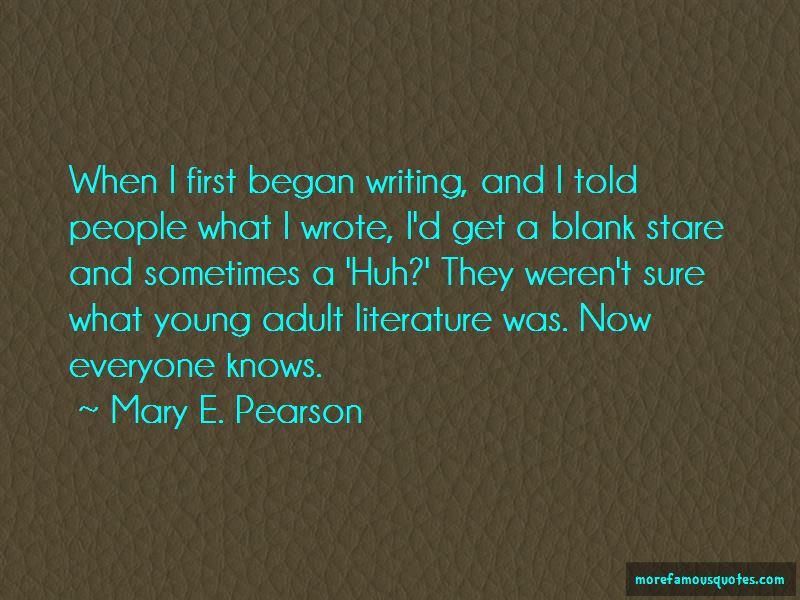 Mary E. Pearson Quotes